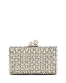 Sophia Webster - Clara Crystal & Faux-Pearl Box Clutch