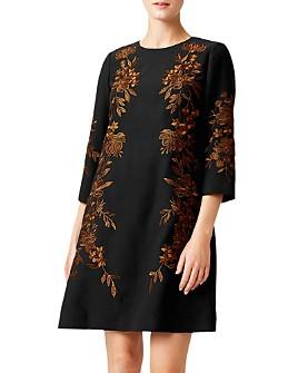 HOBBS LONDON - Lynn Embroidered Shift Dress