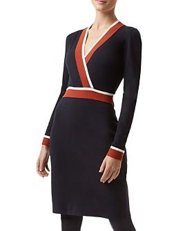HOBBS LONDON - Helena Crossover Dress