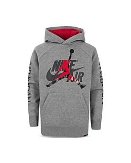 JORDAN - Boys' Nike Air Logo Hoodie - Little Kid