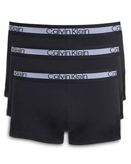 Calvin Klein - Logo-Accented Trunks - Pack of 3