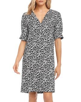 Karen Kane - Leopard-Print Shift Dress