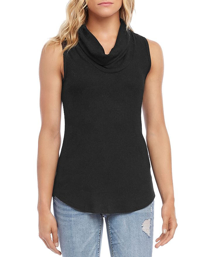 Karen Kane - Sleeveless Cowl-Neck Top