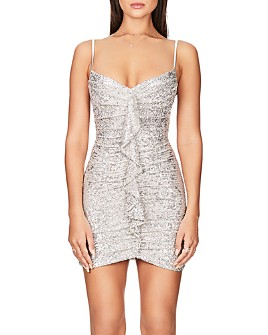 Nookie - Galaxy Sequined Mini Dress