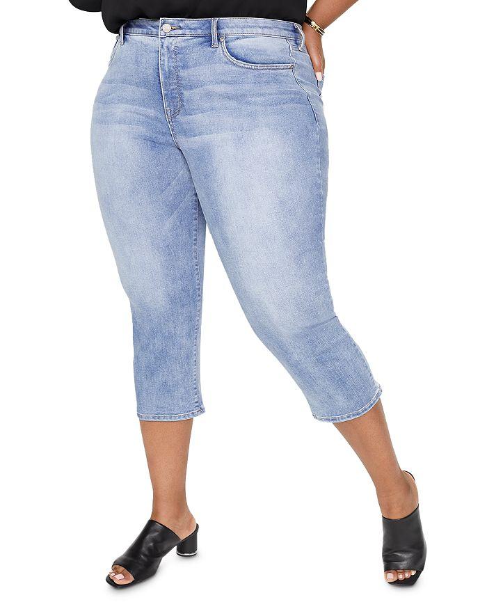 NYDJ Plus - Capri Jeans in Biscayne