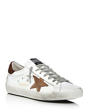 Golden Goose Deluxe Brand Unisex Superstar Leather Low-Top Sneakers