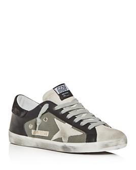 Golden Goose Deluxe Brand - Unisex Superstar Leather & Mesh Low-Top Sneakers