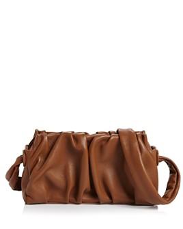 Elleme - Vague Pleated Leather Clutch