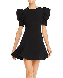 LIKELY - Alia Puff-Sleeve A-Line Mini Dress