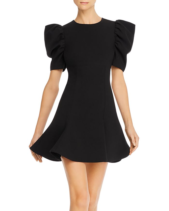 Likely ALIA PUFF-SLEEVE A-LINE MINI DRESS