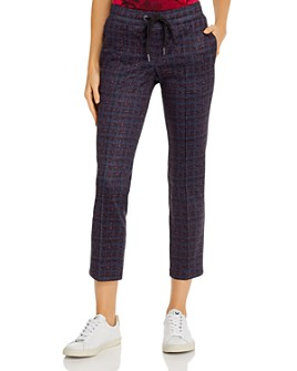 PAM & GELA - Houndstooth Print Track Pants