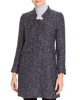 Herno - Sequined Tweed Coat
