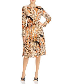 Kobi Halperin - Madi Paisley Silk-Blend Shirt Dress