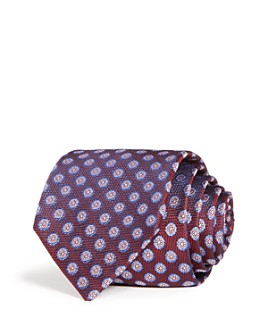 The Men's Store at Bloomingdale's - Medallion Woven Silk Classic Tie - 100% Exclusive
