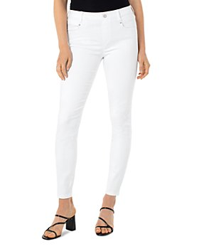 Liverpool Los Angeles - Gia Glider Ankle Jeans in White