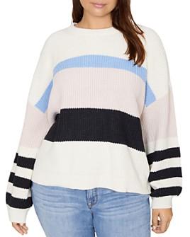 Sanctuary Curve - Playful Striped Sweater