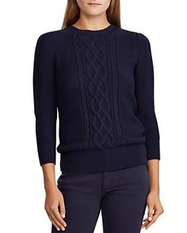 Ralph Lauren - Cable-Knit Sweater