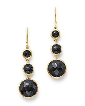 IPPOLITA - 18K Yellow Gold Lollipop Onyx Small Drop Earrings