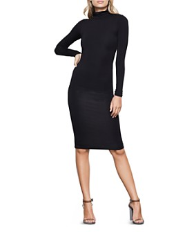 Good American - Body-Con Turtleneck Dress