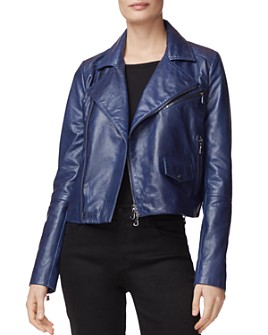 J Brand - Divine Leather Moto Jacket