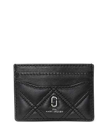 MARC JACOBS - Softshot Quilted Card Case