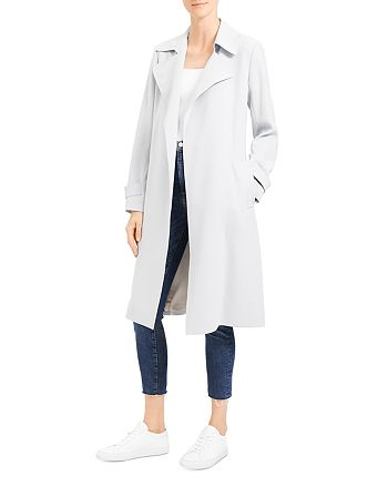 Theory - Oaklane Belted Wrap Coat