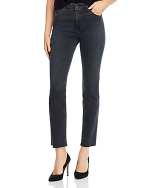 Ag Mari High-Rise Straight Jeans in Pressure-Women
