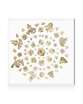Oliver Gal - Gold Flower Mandala Wall Art
