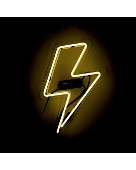 Oliver Gal - Bolt Neon Wall Art