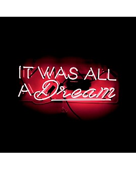 Oliver Gal - Dream Pink Neon Wall Art