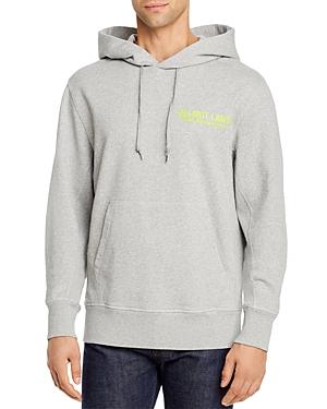 Helmut Lang Graphic Logo Hooded Sweatshirt-Men