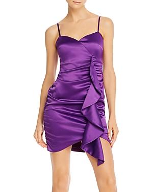 Likely Monaco Ruched Ruffled Mini Dress