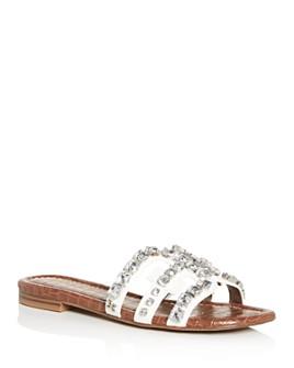 Sam Edelman - Women's Bay Embellished Slide Sandals