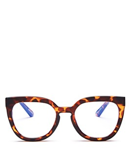 Quay - Women's Noosa Cat Eye Blue Light Glasses, 55mm