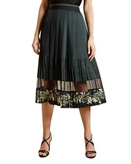 Ted Baker - Boniiee Pleated Midi Skirt