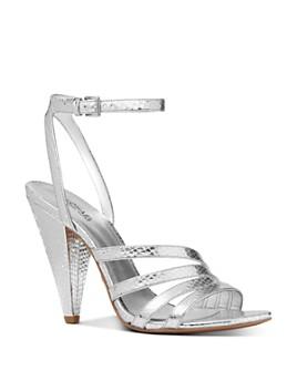 MICHAEL Michael Kors - Women's Kimmy High-Heel Strappy Sandals