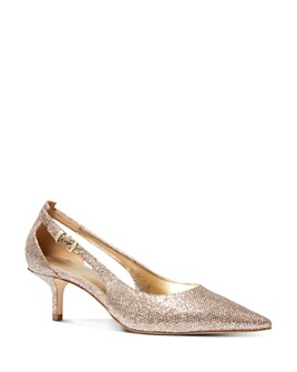 MICHAEL Michael Kors - Women's Lorene Kitten Heel Pumps