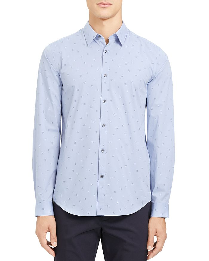 Theory - Irving Circuit Slim Fit Shirt