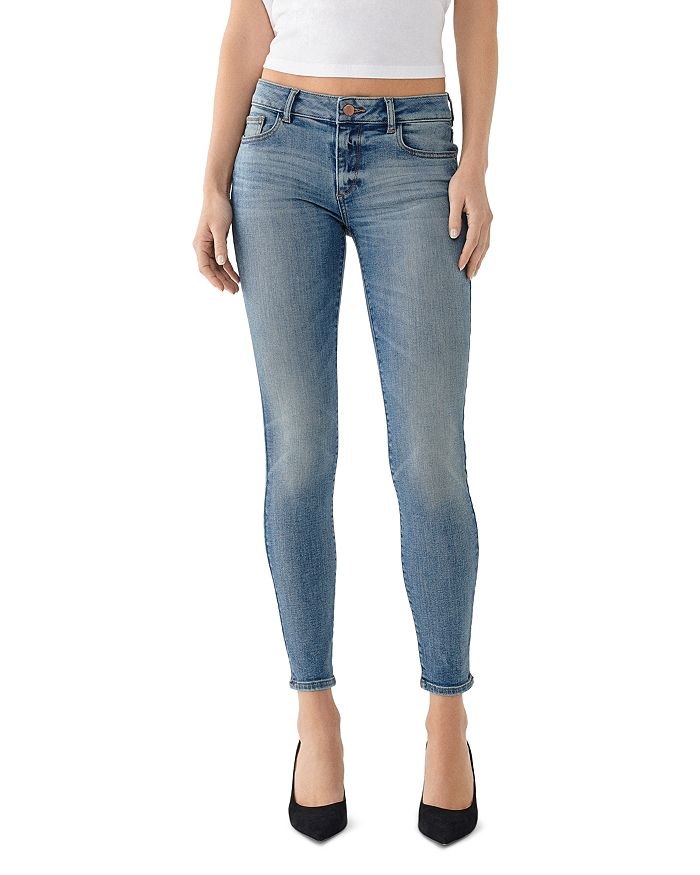 DL1961 - Emma Low-Rise Skinny Jeans in Goodyear