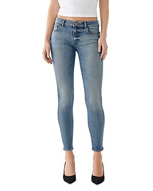 DL1961 Emma Low-Rise Skinny Jeans in Goodyear-Women