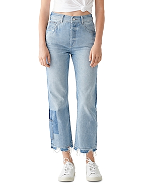 DL1961 Jerry High-Rise Cropped Straight Vintage Jeans in Sebring-Women
