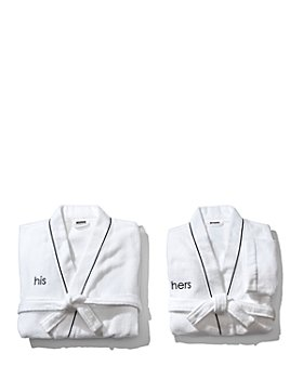 """Hudson Park Collection - """"His & Hers"""" Bath Robes - 100% Exclusive"""