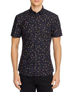 HUGO - Empson Geometric Slim Fit Shirt