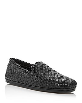 Bottega Veneta - Men's Woven Leather Loafers