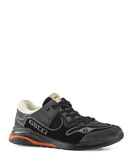 Gucci - Men's G Line Mixed-Media Low-Top Sneakers