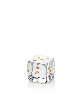 Baccarat - Dice Paperweight