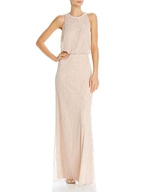Adrianna Papell Embellished Blouson Dress
