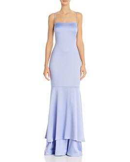 LIKELY - Aurora Satin Mermaid Gown