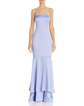 LIKELY - Aurora Satin Mermaid Gown