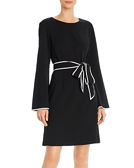 Adrianna Papell - Belted Shift Dress
